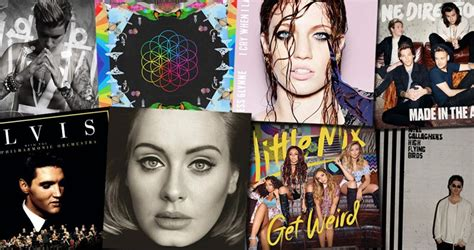 Best Album The Official Top 40 Albums Of 2015 Revealed