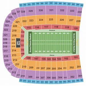 Boone Pickens Stadium Seating Chart Maps Stillwater