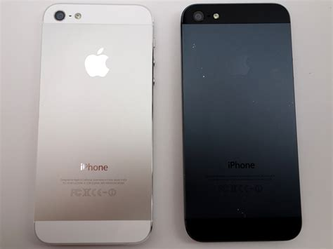 when was iphone iphone 5 black vs white