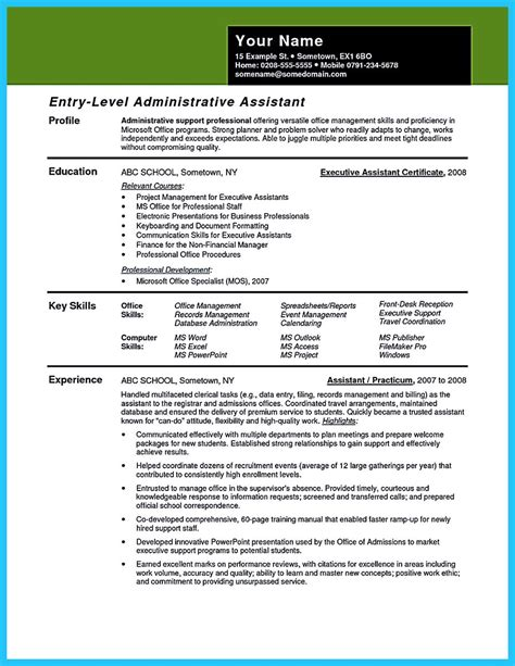 writing your assistant resume carefully