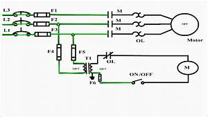 2 Wire Control Circuit Diagram  Motor Control Basics  Controlling Three Phase Motor