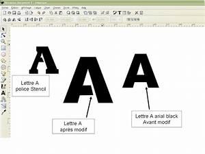 Faire Un Pochoir : pochoir alphabet gratuit ~ Premium-room.com Idées de Décoration