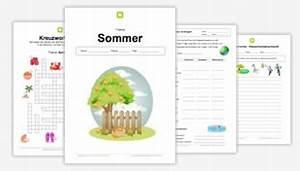 Basteln Sommer Grundschule : kostenlose arbeitsbl tter f r die grundschule ~ Frokenaadalensverden.com Haus und Dekorationen
