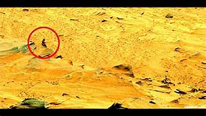 Mars Rover Alien Spotted!! - YouTube