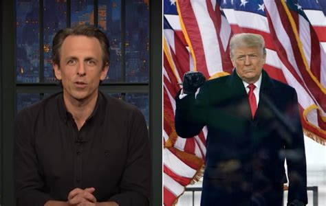 Seth Meyers: Democracy Can Survive Capitol Attack If Trump