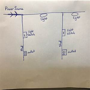 Wire 2 Light Switches 1 Power Source Diagram