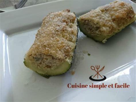 cuisine simple 67 courgettes farcies au poisson cuisine simple et facile