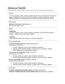 resume format microsoft word 2010 microsoft resume templates free learnhowtoloseweight net