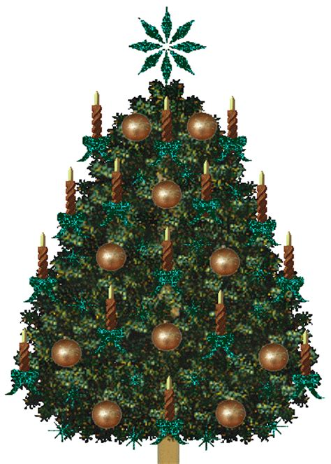 pictures animations christmas tree myspace cliparts