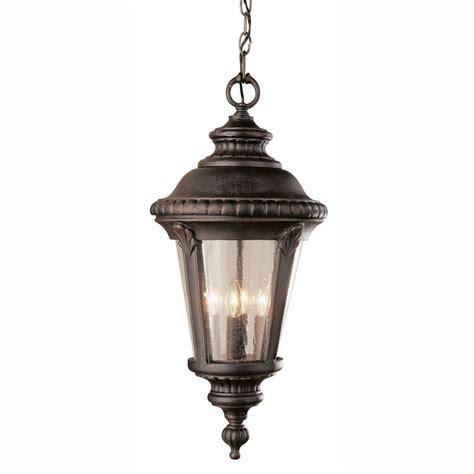 bel air lighting way 1 light outdoor hanging rust