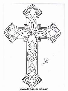 Cross Outline Cross Outline | Tattoos | Pinterest | Tattoo