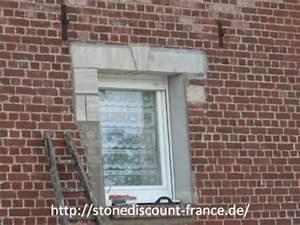 Entourage Fenetre Exterieur : pose d 39 un encadrement de fenetre avec du gr s en rouleau dans la somme 80 youtube ~ Voncanada.com Idées de Décoration