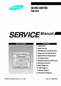 Samsung Audio Scm 7270 Sm Pdf  U2013 Diagramasde Com