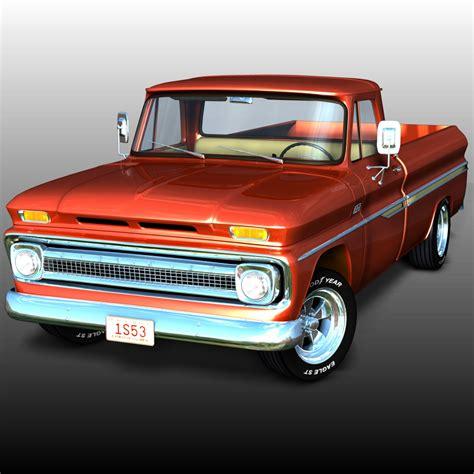 Chevrolet Model by Chevrolet C10 1965 3d Models Ourias3d