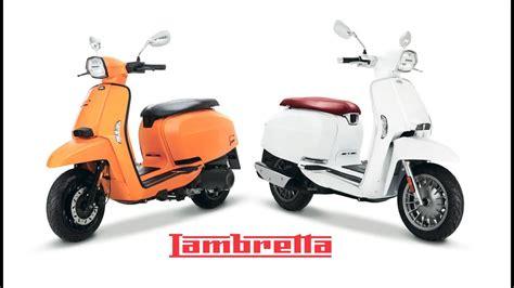 Lambretta V200 Special by 2018 New Lambretta V50 V125 V200 Special Design