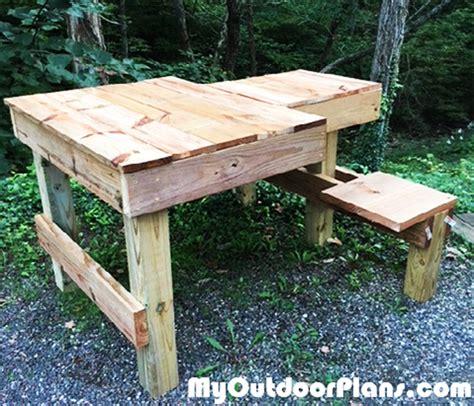 diy double shooting bench myoutdoorplans