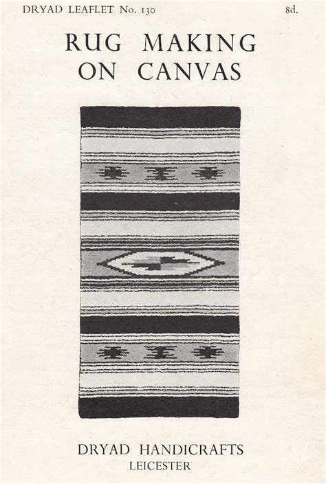 rug making supplies dryad handicrafts