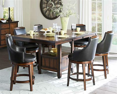 Counter height dining room set, narrow counter height