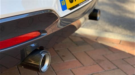 bmw mi  performance exhaust sound youtube