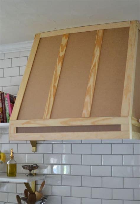 How I Built A Range Hood Cover   House Flip   Pinterest