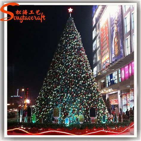 chinese christmas tree decoration artificial giant led