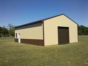 what is pole barn wainscoting diy pole barns With 24x40 pole barn
