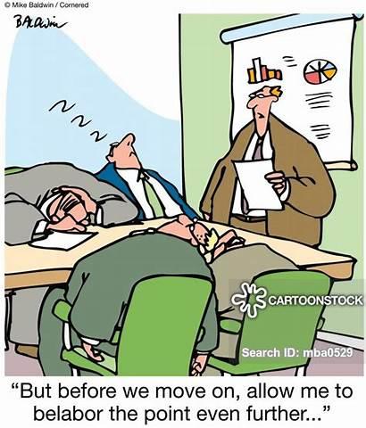 Boring Office Asleep Meetings Falling Bored Clipart