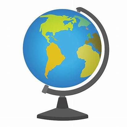 Globe Earth Vector Clip Stand Illustration Axis