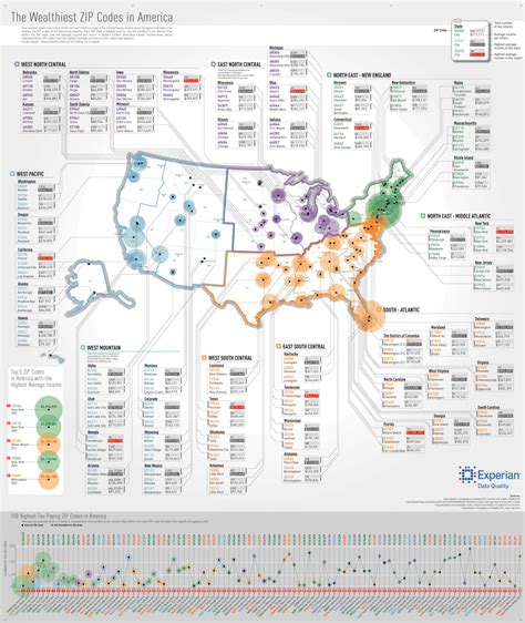map shows americas wealthiest zip codes business