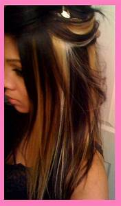 Peekaboo Highlights Highlights And Blondes On Pinterest