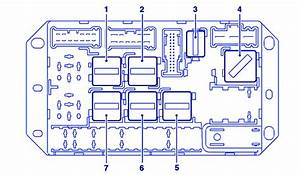Range Rover Td6 L322 2004 Fuse Box  Block Circuit Breaker Diagram