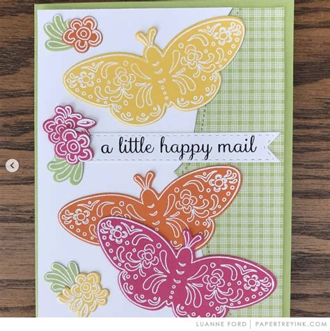 win  wednesday february   papertrey ink cards