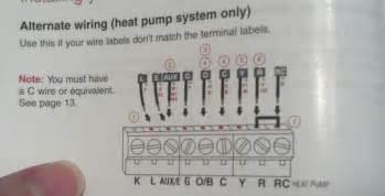 Exsisting Thermostat Running Electric Heat Pump Hvac