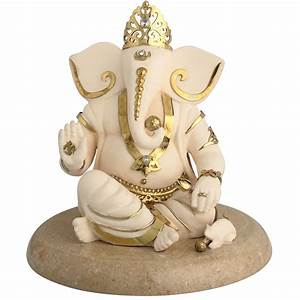 Ganesh Ashirwad Idol in Brass Art and Decors