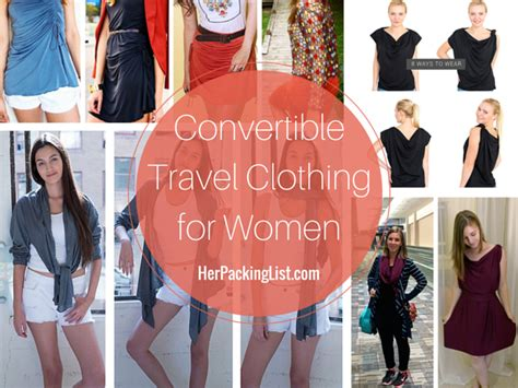 the best convertible travel clothing for pack less do more packing list