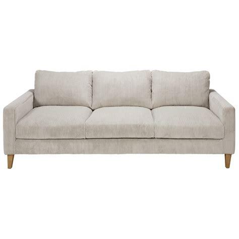 gray corduroy sectional sofa light grey corduroy 4 seater sofa holden maisons du monde