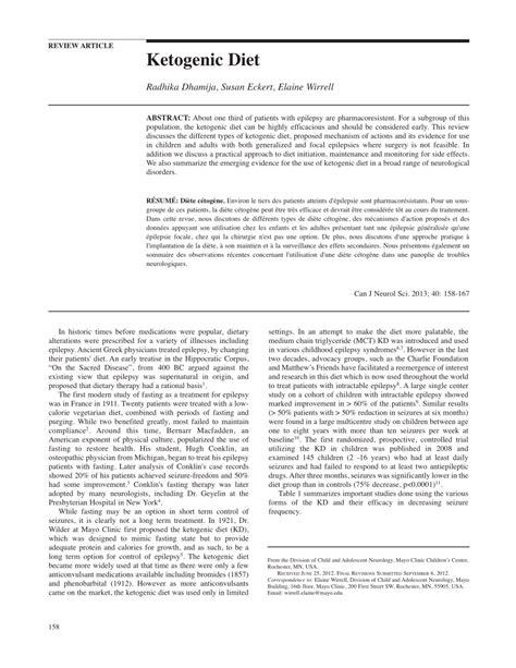 pdf ketogenic diet