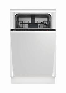 Lave Vaisselle 45 Cm Noir : beko lave vaisselle bldc 45cm dis26021 ~ Melissatoandfro.com Idées de Décoration