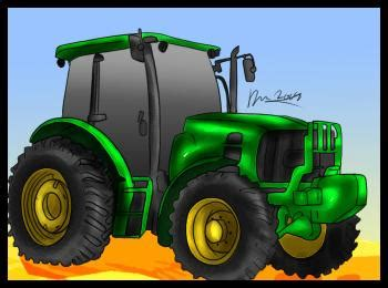 jak narysowac traktor krok po kroku rysowanie traktoru