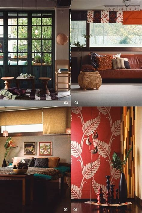 southeast asian decor the post style combined with korea and china and
