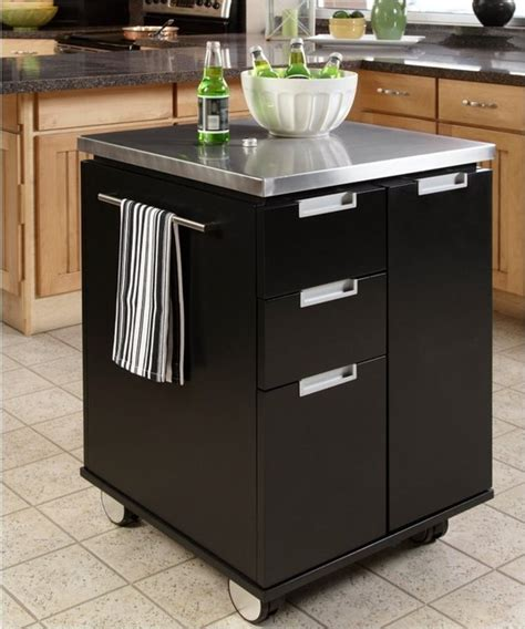Home Styles Modern Kitchen Island Cart  Modern Kitchen