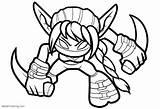 Skylanders Coloring Printable Elf Stealth Skylander Sheets Printables Camo Template Giants Trap Team Drive2vote sketch template