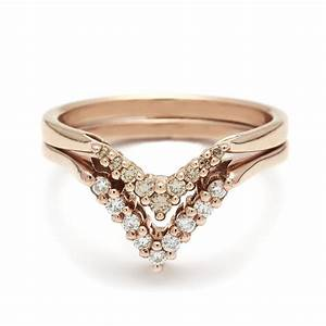 nesting pair no 01 wedding bands anna sheffield jewelry With nesting wedding rings