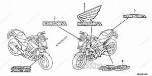 Honda Motorcycle 2012 Oem Parts Diagram For Mark