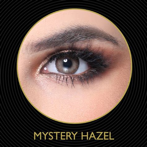 hazel color contacts mystery hazel color contact lens eye contacts