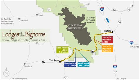 lodges of the bighorns lodging cabins skiing and