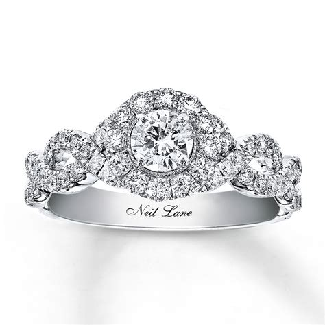 neil engagement ring 1 ct tw diamonds 14k white gold 94020191499 kayoutlet