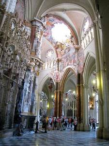 the, interior, of, toledo, cathedral, , as, never, before, recorded, , with, a, drone, , ud83e, udd47, toledospain, click