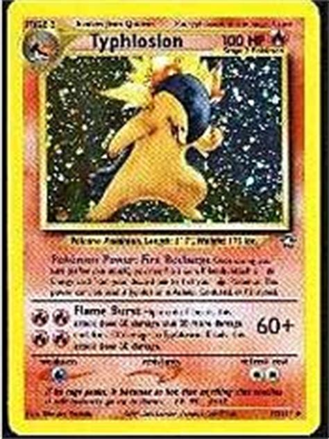 Typhlosion Deck List Breakthrough by Ness S Card Of The Day Trading Card Strategies