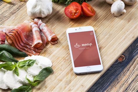 food styling psd mockup  mocup graphicriver